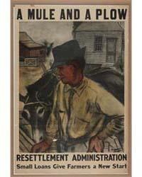 A Mule and a Plow ; Resettlement Adminis... by Bryson, Bernarda