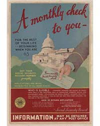 A Monthly Check to You for the Rest of Y... by Washington, D.C.