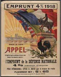 Emprunt 4% 1918 L'Emprunt De La Défense ... by Malassinet, A.