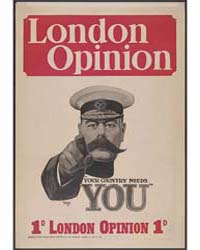 London Opinion Your Country Needs You ; ... by Leete, Alfred