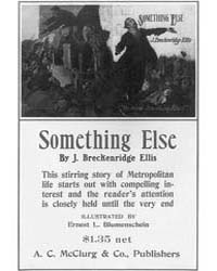 Something Else by J Breckenridge Ellis, ... by Blumenschein, E. L.