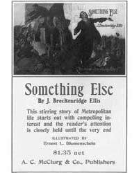 Something Else by J Breckenridge Ellis, ... by Blumenschein, E. L.