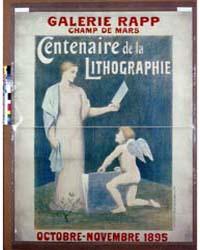 Centenaire De La Lithographie ; Galerie ... by Puvis De Chavannes, Pierre
