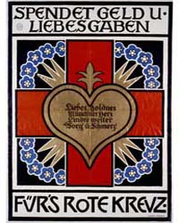 Spendet Geld U Liebesgaben Für's Rote Kr... by Münzer, Adolf Franz Theodor