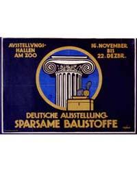 Deutsche Ausstellung, Sparsame Baustoffe... by Gipkens, Julius E. F.