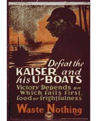 Defeat the Kaiser and His U-boats ; Vict... by Library of Congress