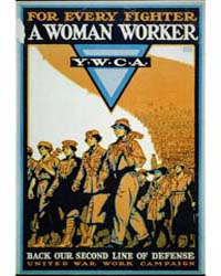 For Every Fighter a Woman Worker Ywca : ... by Baker, Ernest Hamlin