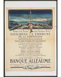 Banque Alleaume : Souscrivez Á L'Emprunt... by Aurisse, Camille