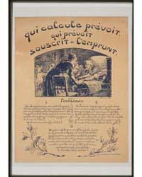 Qui Calcule Prévoit Qui Prévoit Souscrit... by Prouvé, Victor Emile