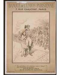 Banque De L'Union Parisienne Pour Que La... by Willette, Adolphe