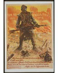 On NE Passe Pas 1914 1918 Par Deux Fois ... by Neumont, Maurice