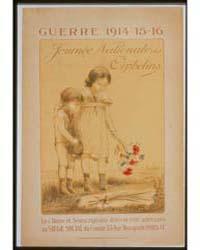 Guerre 1914-15-16 Journée Nationale Des ... by Foerster, Charles H.