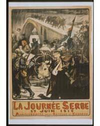 La Journée Serbe 25 Juin 1916 Anniversai... by Fouqueray, Charles