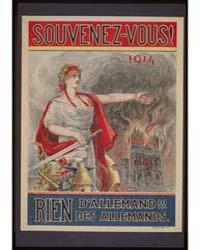 Souvenez-vous 1914 Rien D'Allemand Des A... by Lemielle, E.