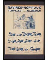 Navires-h'Pitaux Torpillés Par Les Allem... by Nancy-paris