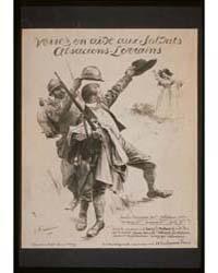 Venez En Aide Aux Soldats Alsaciens-lorr... by Friant, Émile