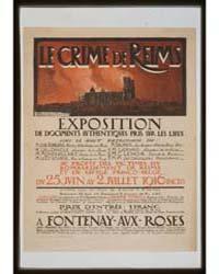 Le Crime De Reims Exposition Au Profit D... by Sénéchal, Adrien