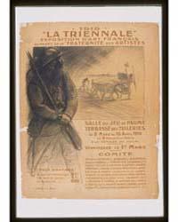 1916 'La Triennale' Exposition D'Art Fra... by Steinlen, Théophile Alexandre