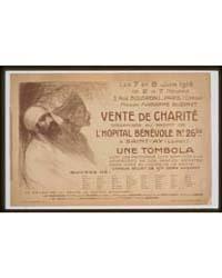 Vente De Charité Organisée Au Profit De ... by Steinlen, Théophile Alexandre