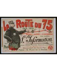 La Route Du 75 1914*1915' Roman De Guerr... by Roy, José