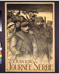 Journée Serbe 25 Juin 1916, Photograph 3... by Steinlen, Théophile Alexandre