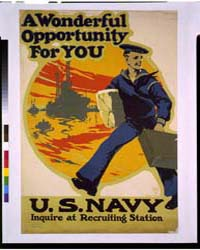 A Wonderful Opportunity for You, US Navy... by Ruttan, Charles E.