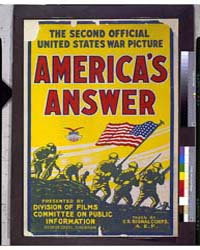 America's Answer the Second Official Uni... by Library of Congress