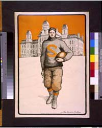Syracuse Football Player, Full-length, S... by Chaffee, Mae Goodelle