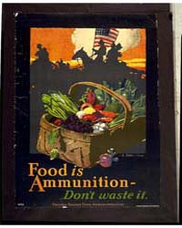 Food is Ammunition ; Don'T Waste it ; Je... by Sheridan, John E.