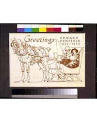 Greetings : Edward Penfield 1922-1923, P... by Penfield, Edward