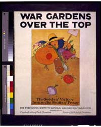 War Gardens Over the Top the Seeds of Vi... by Barney, Maginel Wright