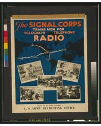 The Signal Corps Trains Men for Telegrap... by Mueller, Harry S.