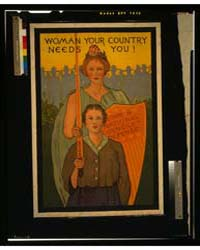 Woman Your Country Needs You, Photograph... by Library of Congress