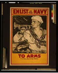 Enlist in the Navy to Arms ; Milton Banc... by Bancroft, Milton Herbert