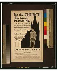 Put the Church Behind Pershing to Win Th... by Library of Congress