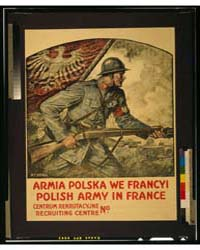 Polish Army in France ; W T Benda, Photo... by Benda, Wladyslaw T.