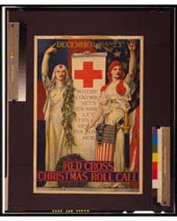 Red Cross Christmas Roll Call December 1... by Blashfield, Edwin Howland
