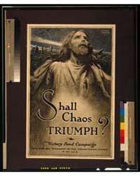 Shall Chaos Triumph Victory Fund Campaig... by Bracker, M. Leone