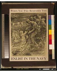 When You Fire Remember This - Enlist in ... by Rogers, W. A.