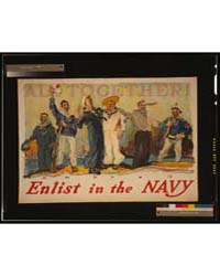 All Together Enlist in the Navy, Photogr... by Reuterdahl, Henry