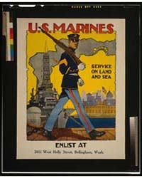 US Marine Corps - Service on Land and Se... by Riesenberg, Sidney H.