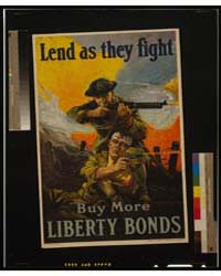 Lend as They Fight - Buy More Liberty Bo... by Riesenberg, Sidney H.