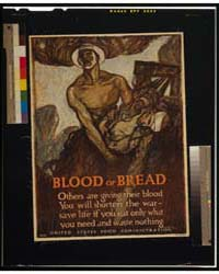 Blood or Bread Others Are Giving Their B... by Raleigh, Henry