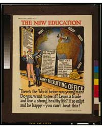 The New Education There's the World Befo... by McCay, Winsor