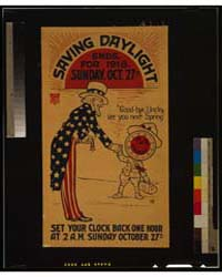 Saving Daylight Ends, for 1918, Sunday, ... by Library of Congress