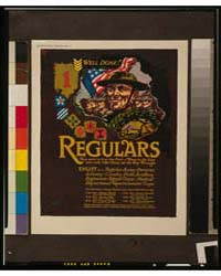 Regulars - They Were in it at the First ... by Sheeres, John W.
