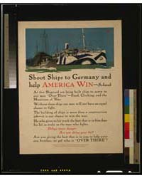Shoot Ships to Germany and Help America ... by Treidler, Adolph