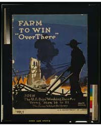 Farm to Win Over There - Join the US Boy... by Treidler, Adolph