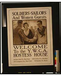 Soldiers-sailors and Women Guests - Welc... by Tittle, Walter