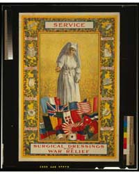Service - Surgical Dressings for War Rel... by Library of Congress